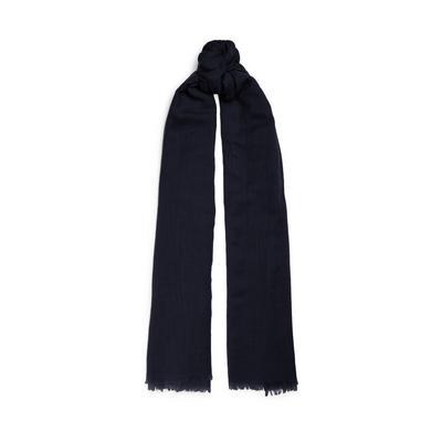 Cachecol lã premium preto