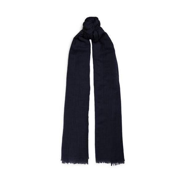 Black Premium Wool Scarf