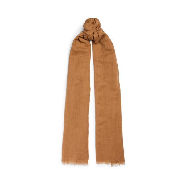 Tan Premium Wool Scarf