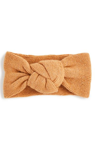 Orange Knot Headband