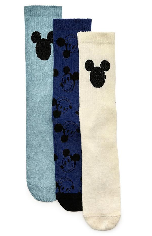 Lot de 3 paires de chaussettes Disney Mickey Mouse