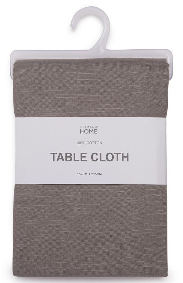 Toalha mesa cinzento-quente