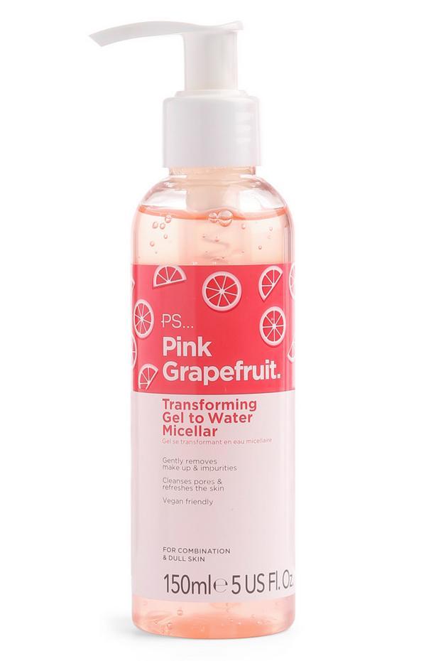 Pink Grapefruit Gel to Micellar Water
