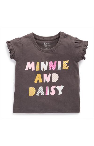 Lot de 3t-shirts Minnie Mouse et Daisy Duck bébé fille