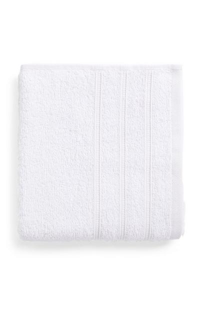 Weißes hochwertiges Handtuch