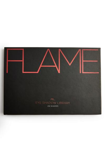 PS Masterclass 24 Shade Flame Eyeshadow Library Palette
