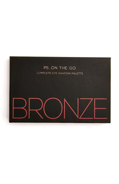 Paleta 6 sombras olhos PS On The Go Bronze