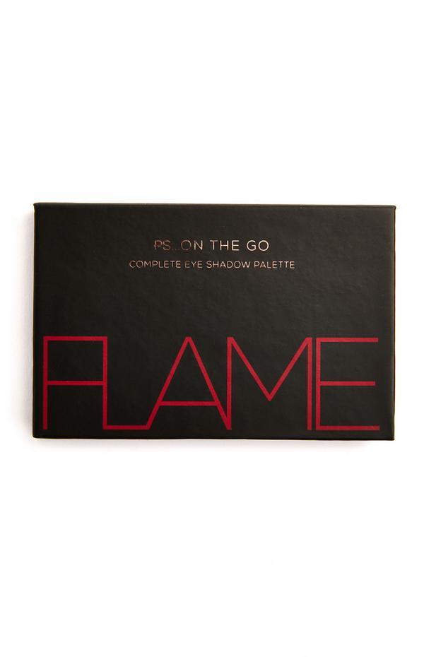 """Ps On The Go"" Lidschattenpalette mit 6 Farben, Flame"