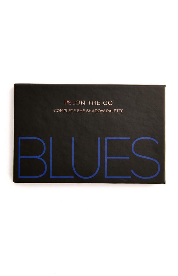 """Ps On The Go"" Lidschattenpalette mit 6 Farben, Blues"