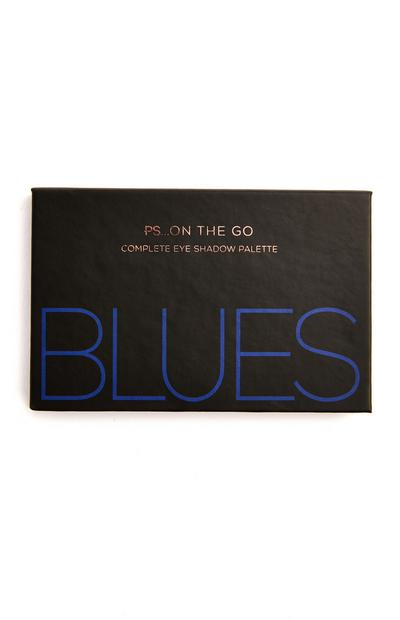 Paleta 6 sombras olhos PS On The Go Blues