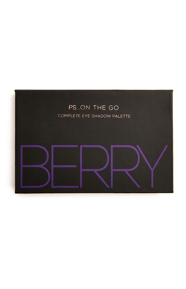 """Ps On The Go"" Lidschattenpalette mit 6 Farben, Berry"