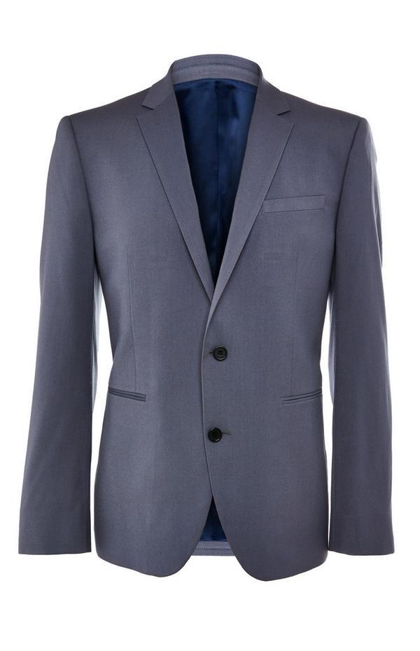 Himmelblaue Premium-Anzugjacke