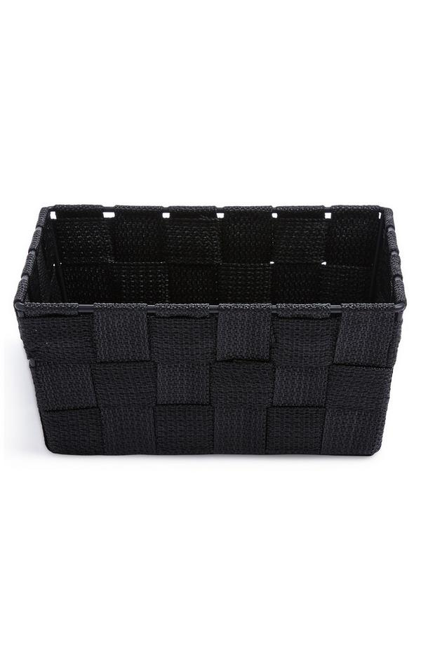Black Mini Woven Basket