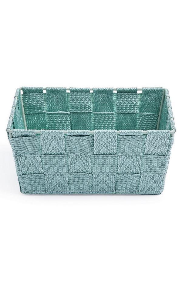 Green Mini Woven Basket