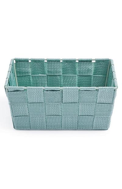 Green Mini Woven Basket