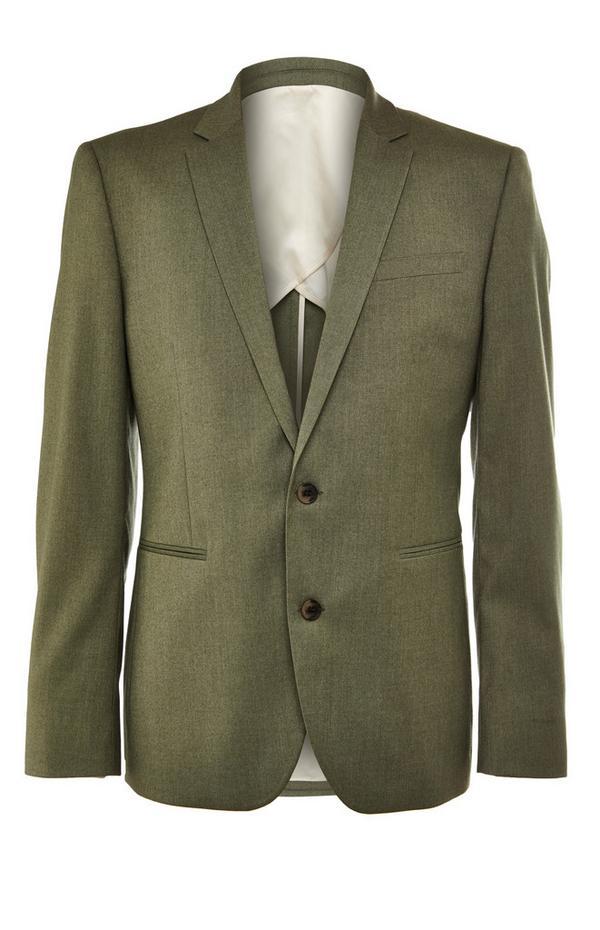Premium Olive Suit Jacket