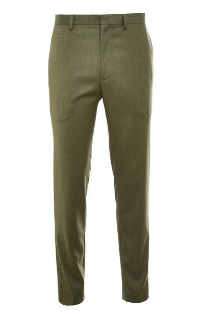 Premium Khaki Suit Trousers