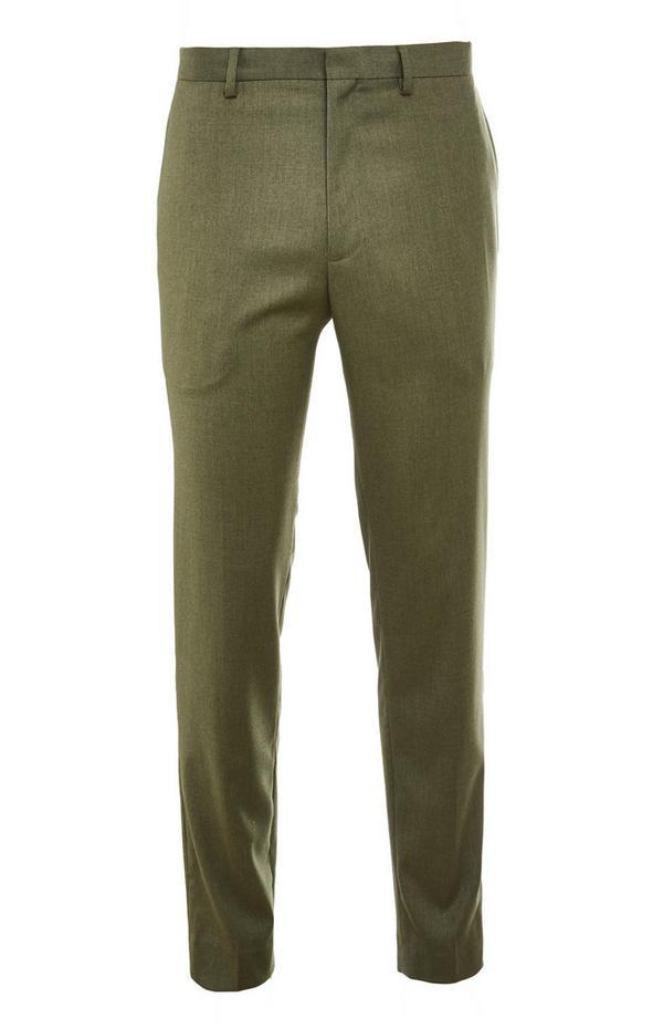 Pantalon de costume kaki Premium