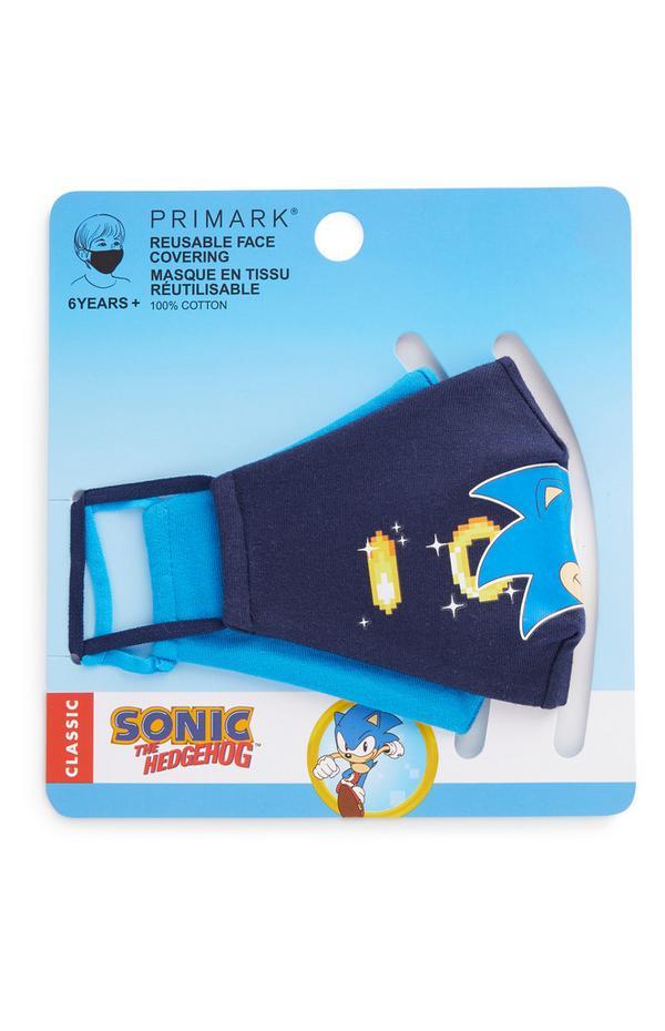2 mascherine riutilizzabili Sonic The Hedgehog