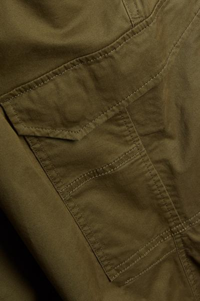 Lightweight Khaki Cargo Trousers