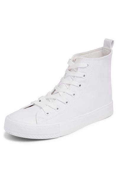 White Classic High Tops