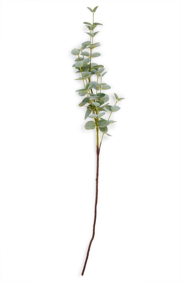 Faux Single Stem Eucalptus Branch