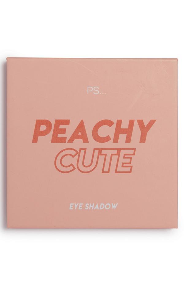"""""""PS Peachy Cute"""" Lidschattenpalette mit 9 Nuancen"""