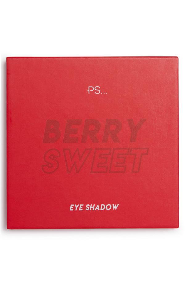 """PS Berry Sweet"" Lidschattenpalette mit 9 Nuancen"