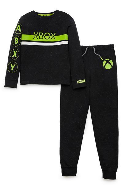 Zwarte pyjama Xbox voor jongens