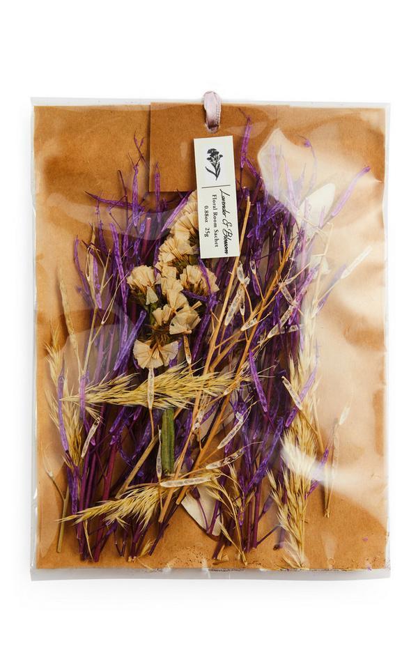 Geurverspreider Lavender & Blossom met gedroogde bloemen