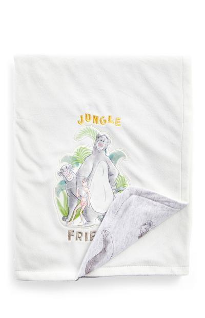 White Jungle Book Blanket