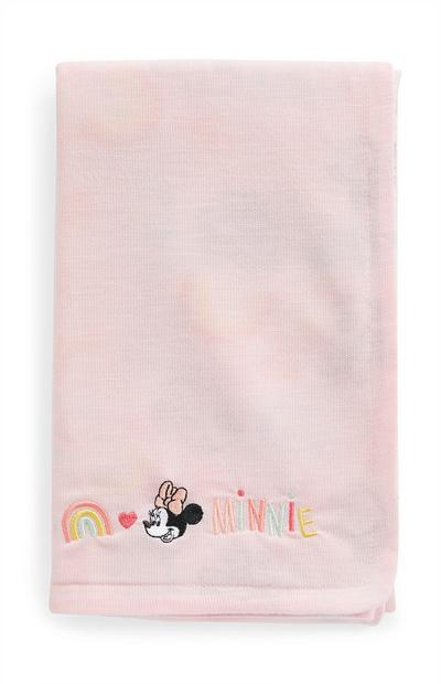 Pink Disney Minnie Mouse Baby Blanket