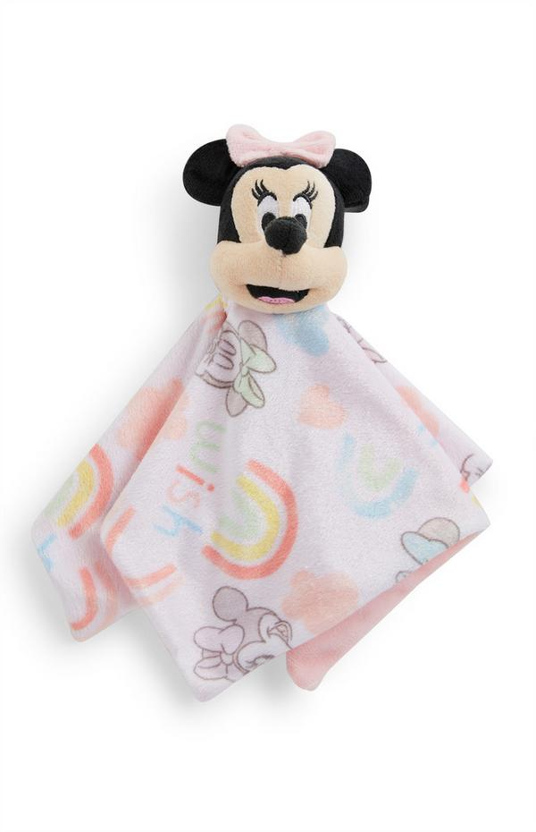 Pink Disney Minnie Mouse Baby Comforter