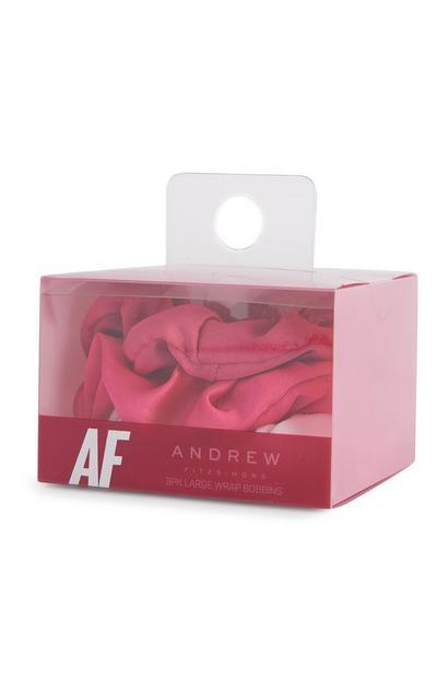 Rožnate elastike za lase Andrew Fitzsimons