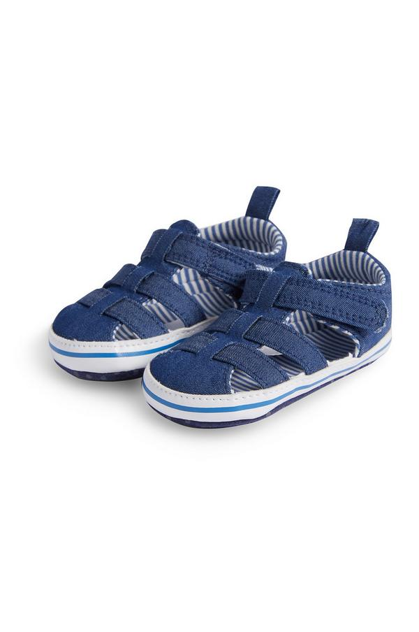 Sandales de bain en denim bébé garçon