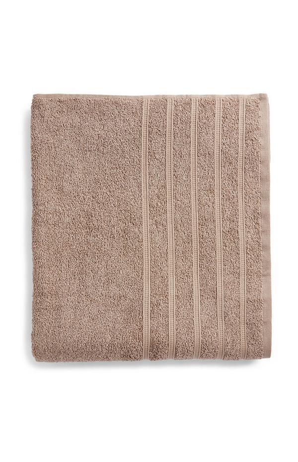 Taupe Value Xl Bath Sheet