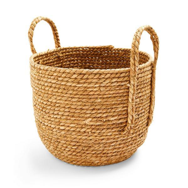 Natural Rattan Woven Basket