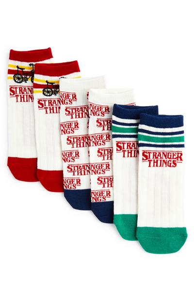 Stranger Things Socks 3 Pack