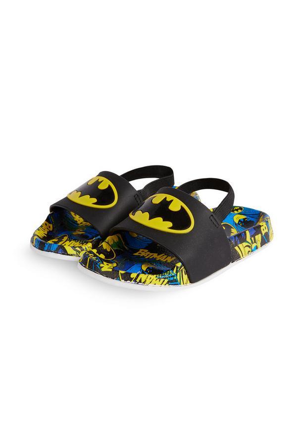 Chanclas de piscina de Batman para niño pequeño