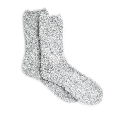 Sive nogavice iz bukleja, 2 para