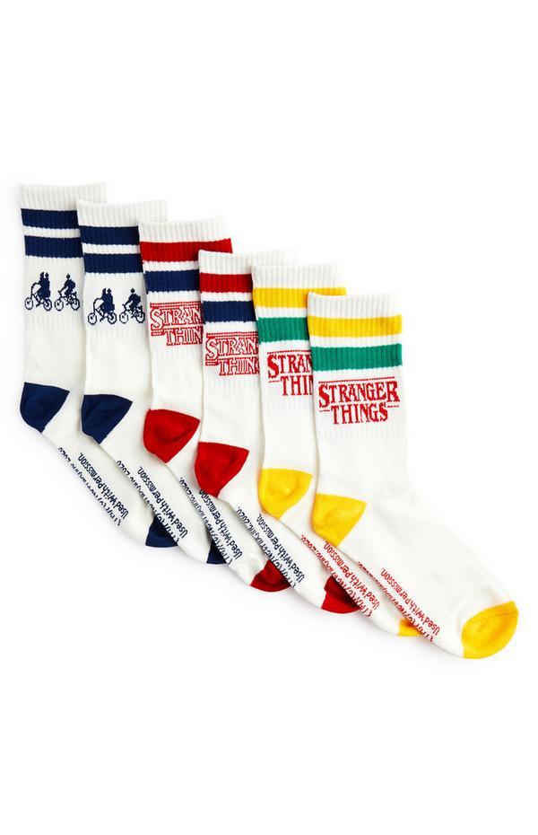 3-Pack Stranger Things Socks
