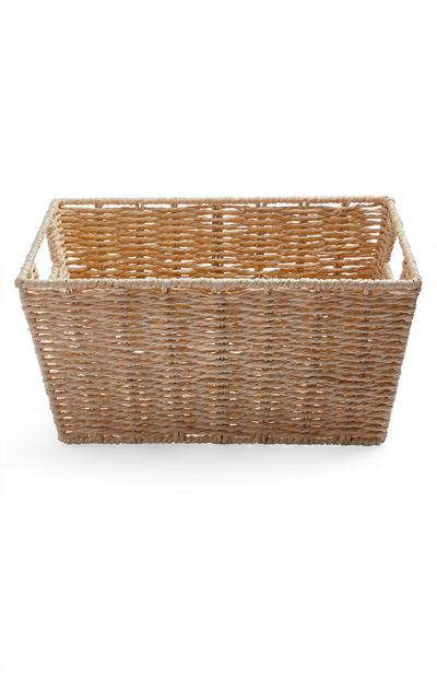 Straw Medium Paper Rope Basket