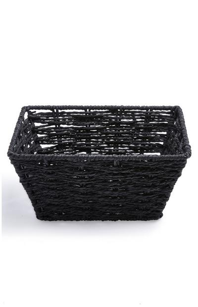 Black Mini Paper Rope Basket