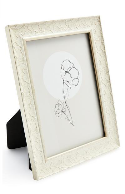 Moldura flor moderna 13 x 18 cm