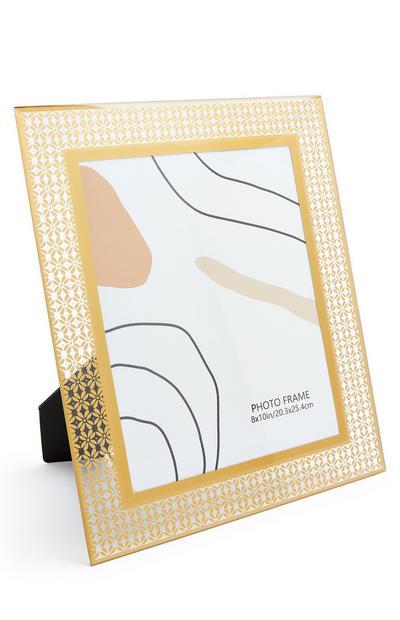 Bilderrahmen aus Metallic-Glas, 20 x 25 cm