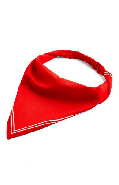 Red Headscarf Headband
