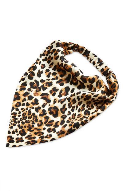 Leopard Print Headscarf Headband