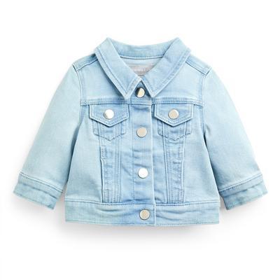 Casaco ganga menina bebé azul