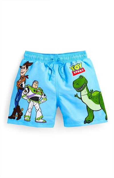 Modre kopalne hlače Toy Story za mlajše fante