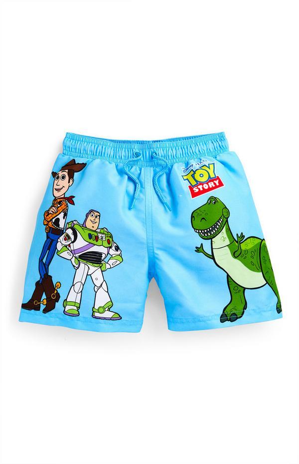 Bañador azul de Toy Story para niño pequeño
